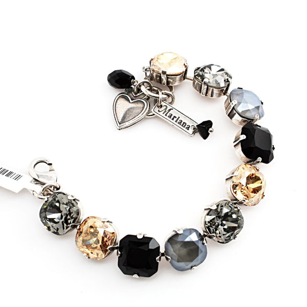 Adeline 12MM Square Crystal Bracelet