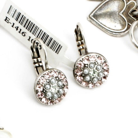 Cosmo Collection Small Crystal Earrings