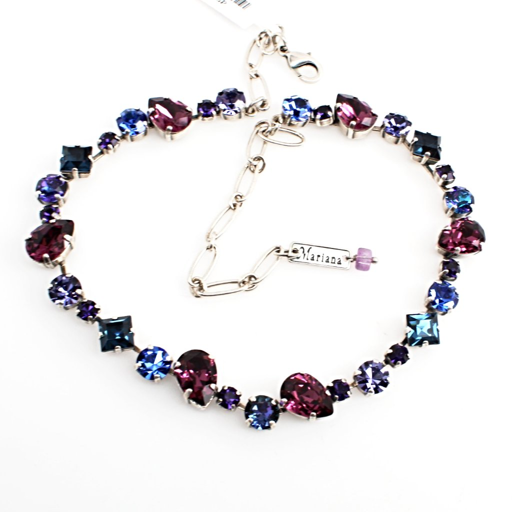Happy Hour Multi Crystal Necklace