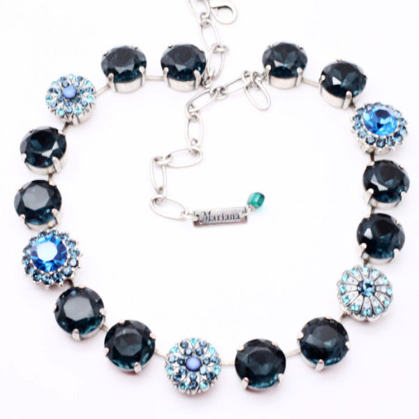 Montana Blue Gorgeous Extra Large Crystal Necklace