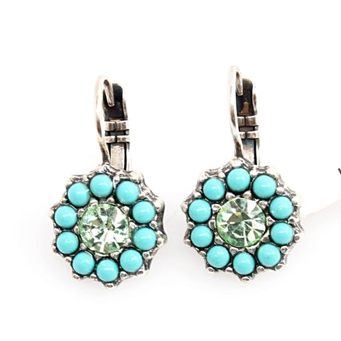 Athena Collection Crystal Earrings