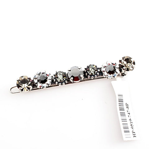 Black Diamond Collection Crystal Barrette