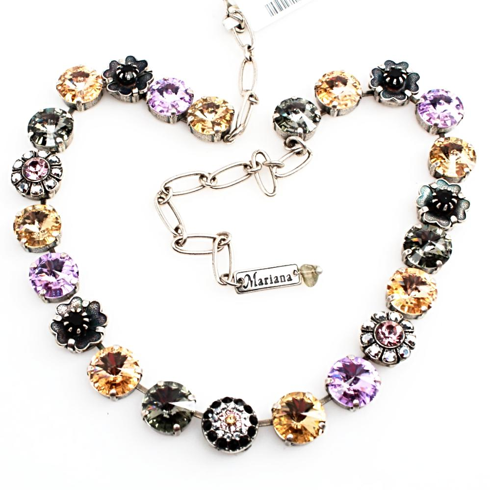 Discover Collection Large Rivoli Crystal Necklace
