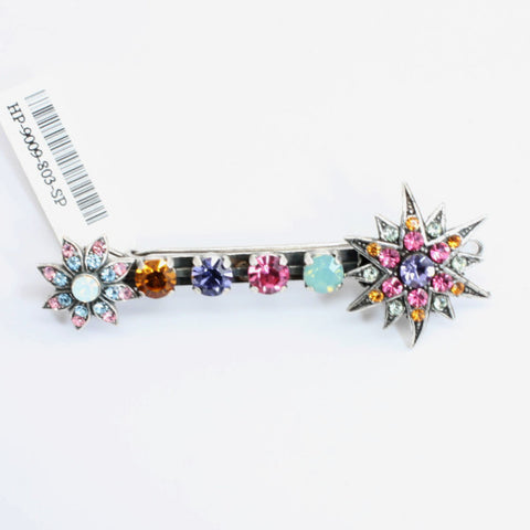 Flower Power Collection Crystal Barrette