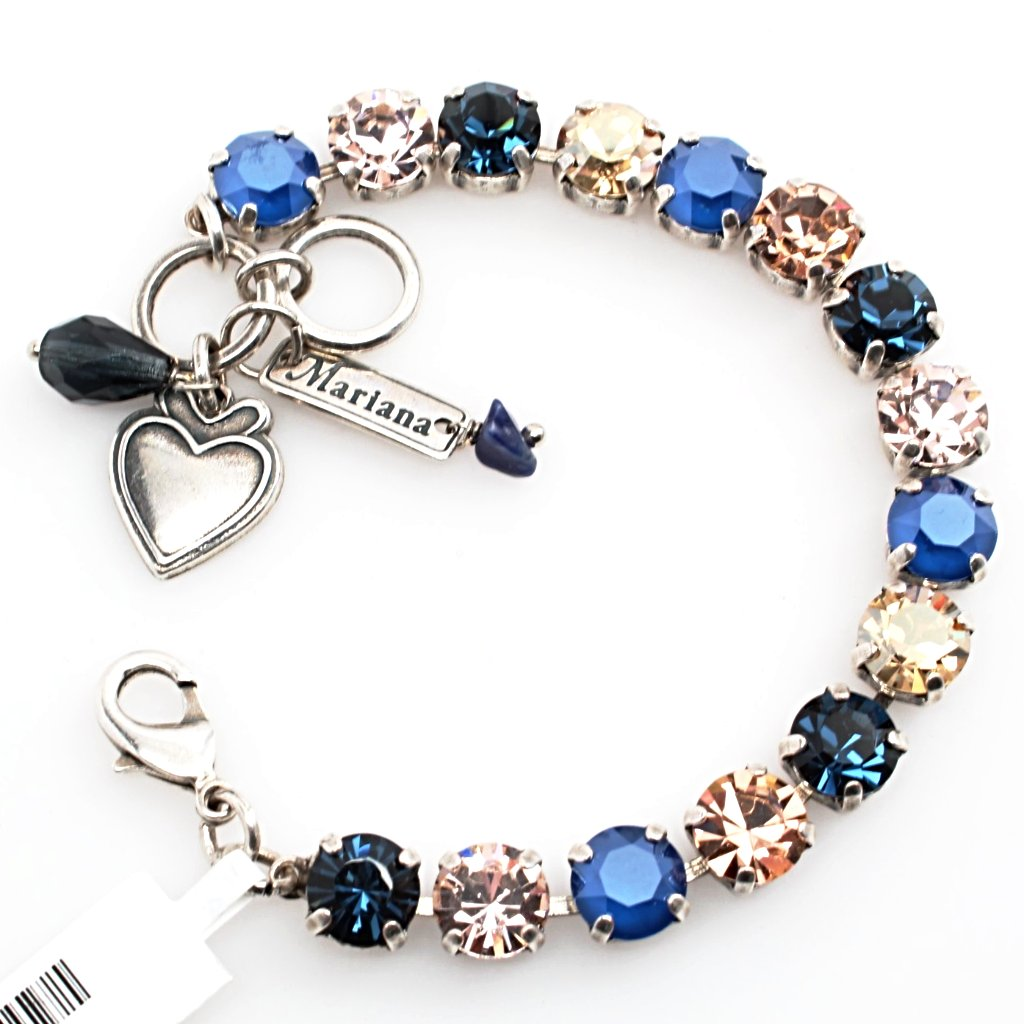 Ocean Collection Medium Crystal Bracelet