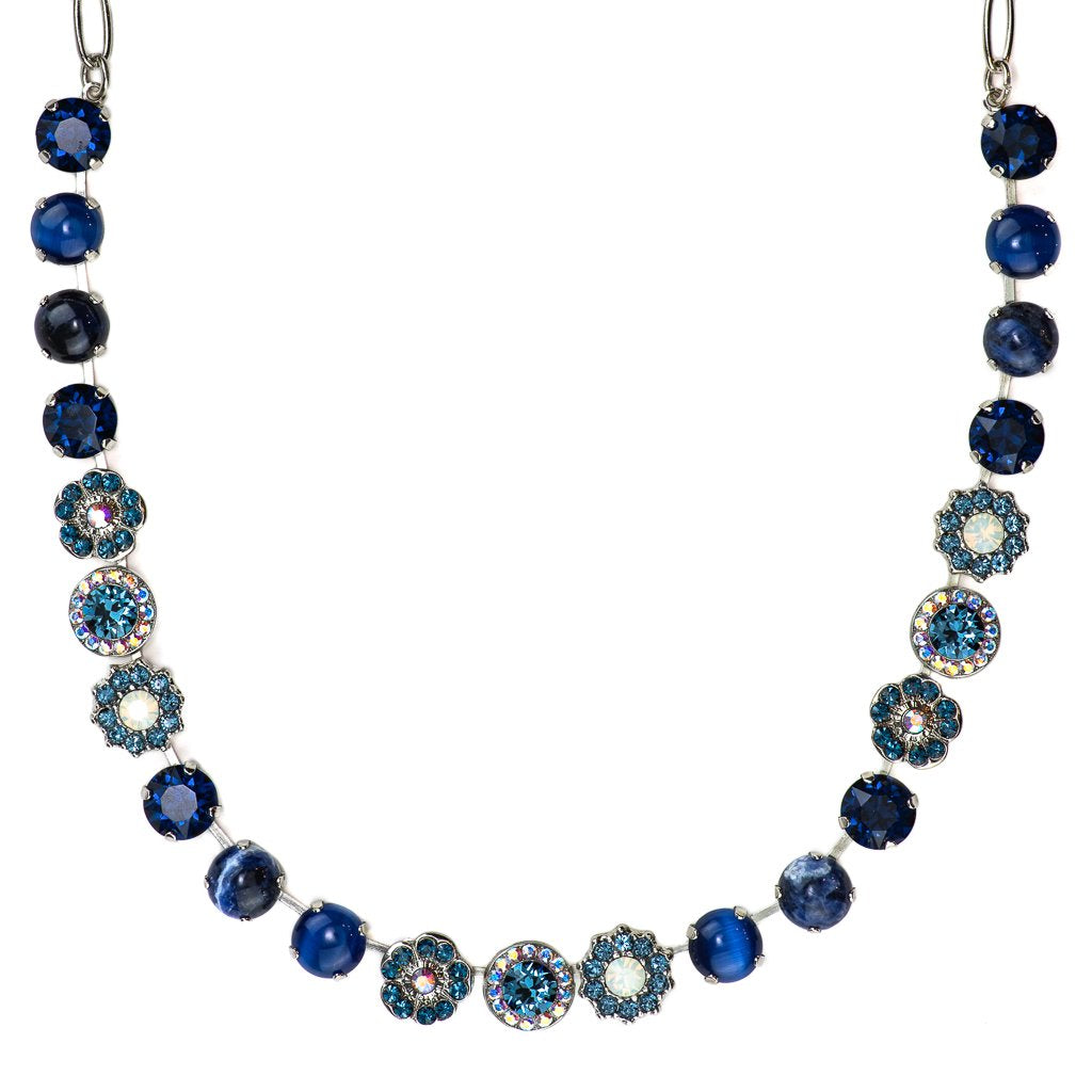 Mood Indigo Lovable Mineral Crystal Necklace