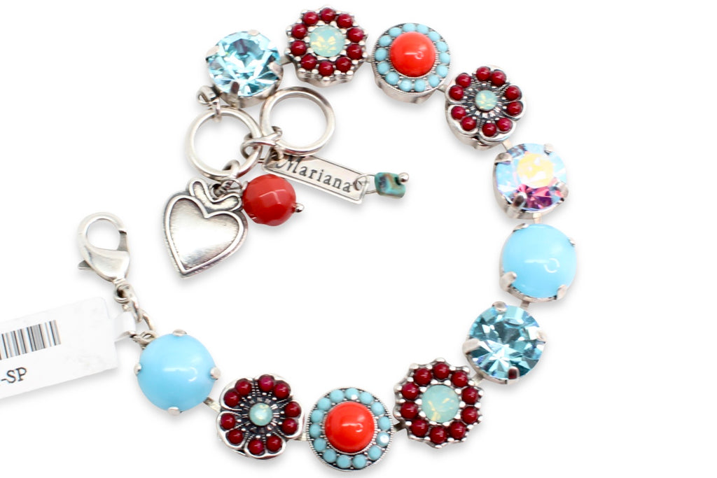 Jennifer Collection Large Crystal Bracelet