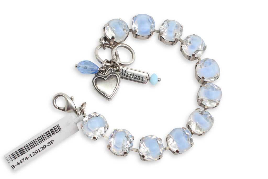 Blue Givre 11MM Large Crystal Bracelet