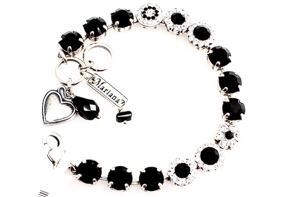 Checkmate Collection Medium Flower Bracelet