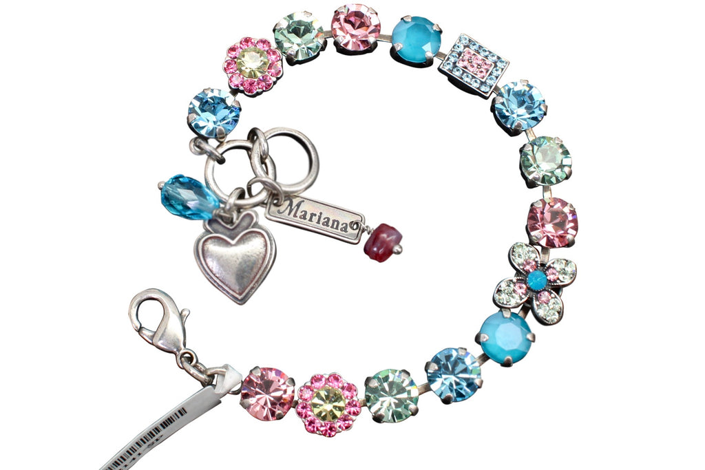 Spring Flowers Collection Crystal Bracelet