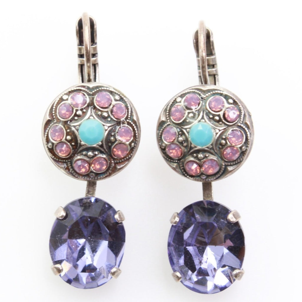 Happiness Collection Vintage Inspired Crystal Earrings