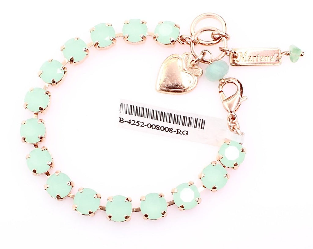 Seafoam Must Have Crystal Bracelet in Rose Gold