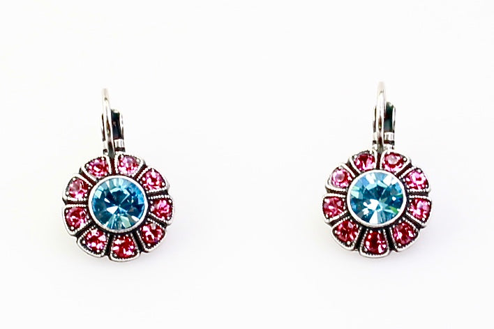 Spring Flowers Collection Crystal Earrings