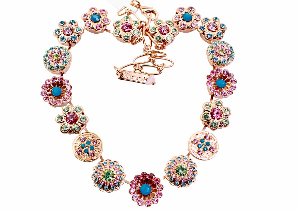 Spring Flowers Collection Signature Necklace in Rose Gold