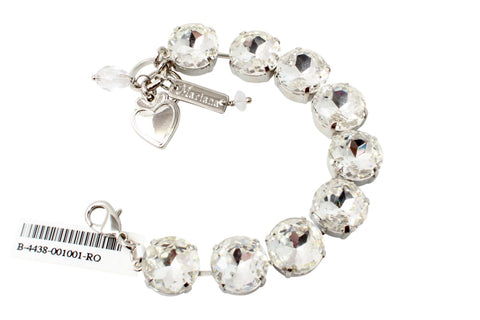 Clear 15MM Extra Large Crystal Bracelet