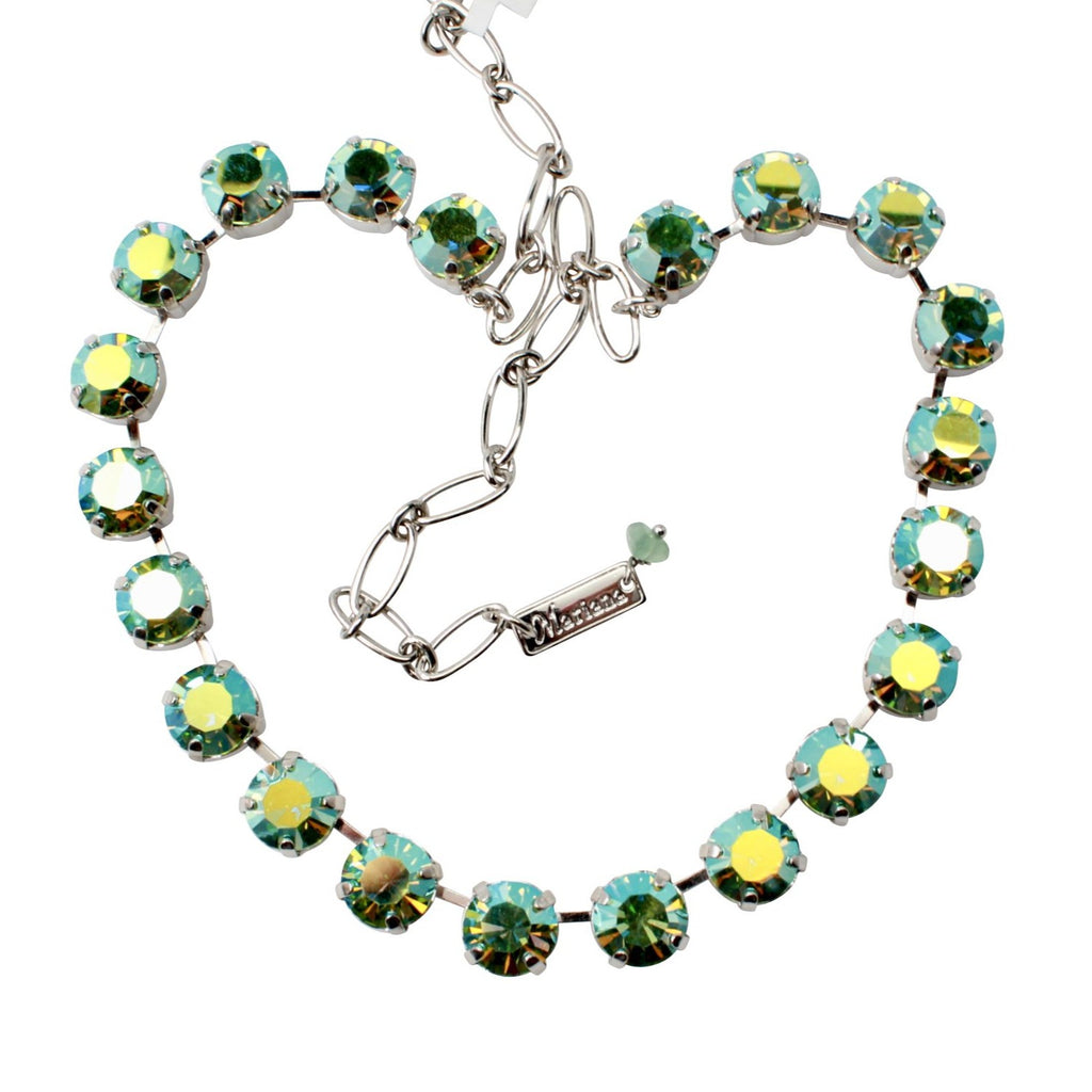 Peridot AB 11MM Crystal Necklace