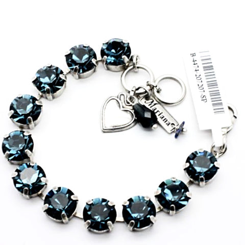 Montana Blue Lovable Crystal Bracelet