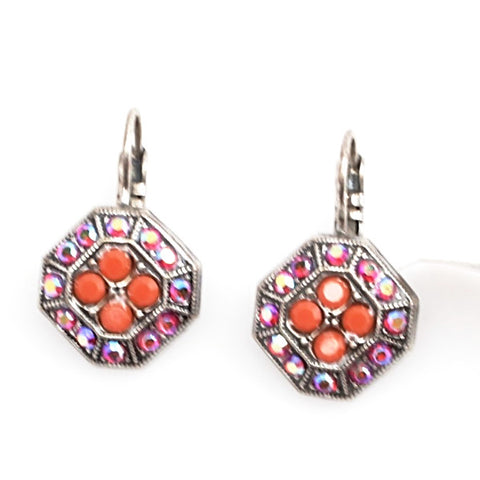 Saffron Collection Octagon Earrings