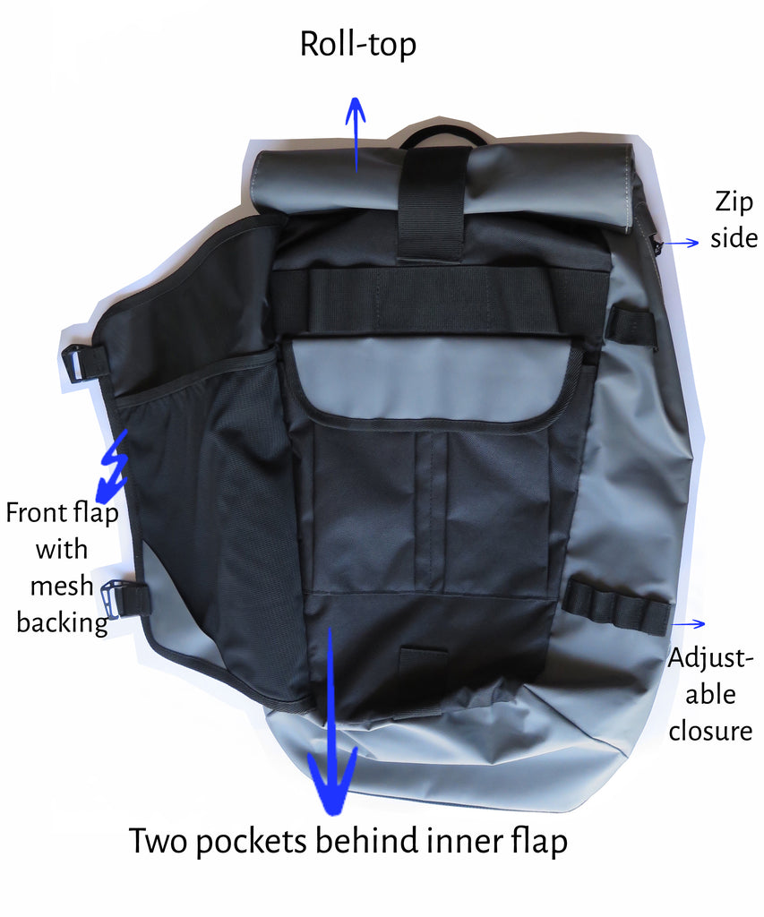 Hull & Stern Backpack Features