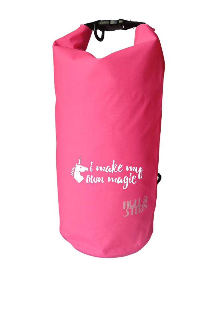 [CLEARANCE] LIMITED EDITION: Unicorn Magic Adventure Dry Bag Size 10L in Sea Salt Pink