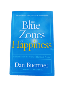 Blue Zones of Happiness: Lessons from the World's Happiest People (Hardbound Book)