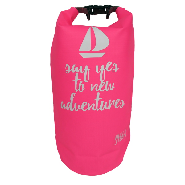 [LIMITED EDITION: Say Yes] Adventure Dry Bag Size 10L in Sea Salt Pink Backpack