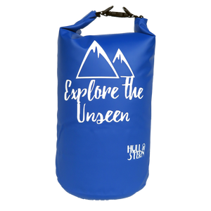 [LIMITED EDITION: Explore the Unseen] Adventure Dry Bag Size 10L (Sail Away Blue Backpack)