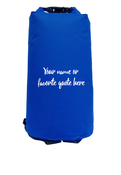 Customized Adventure Dry Bag Size 10L (Various Colors)