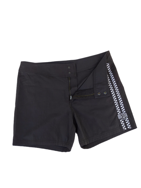 Deus Ex Machina Moto Board Short - Black - Size 34