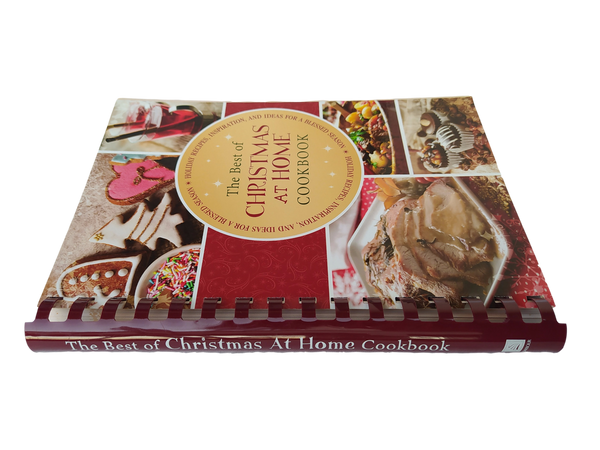 CHRISTMAS: Best of Christmas at Home: Holiday Recipes, Inspiration, and Ideas for a Blessed Season (Spiral-Bound Book)