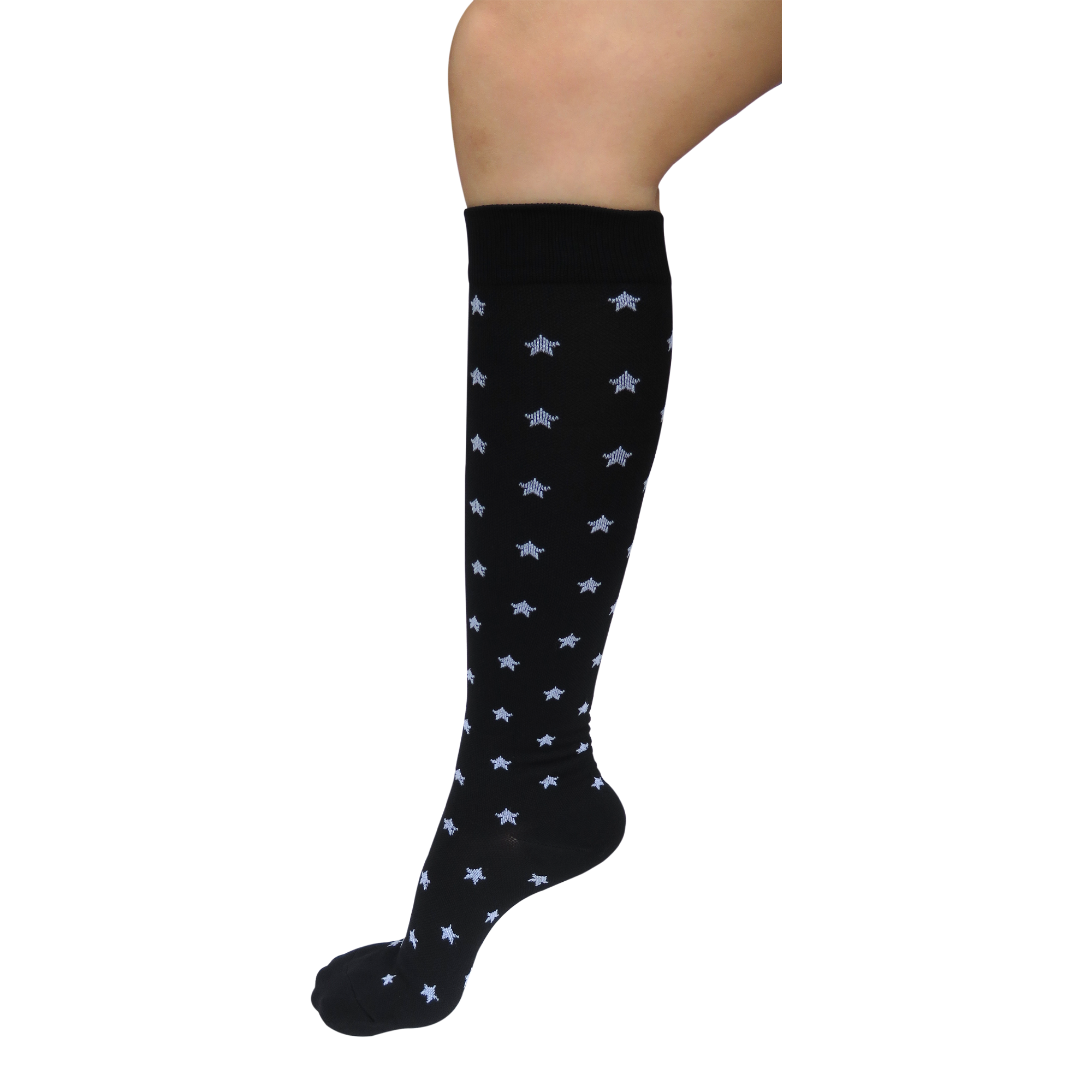 Graduated Compression Socks in Stars