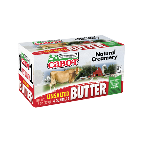 Butter Quarters (Cabot Creamery)