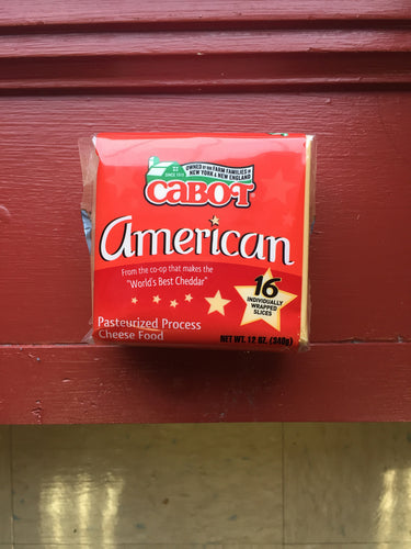 American Cheese (Cabot Creamery)