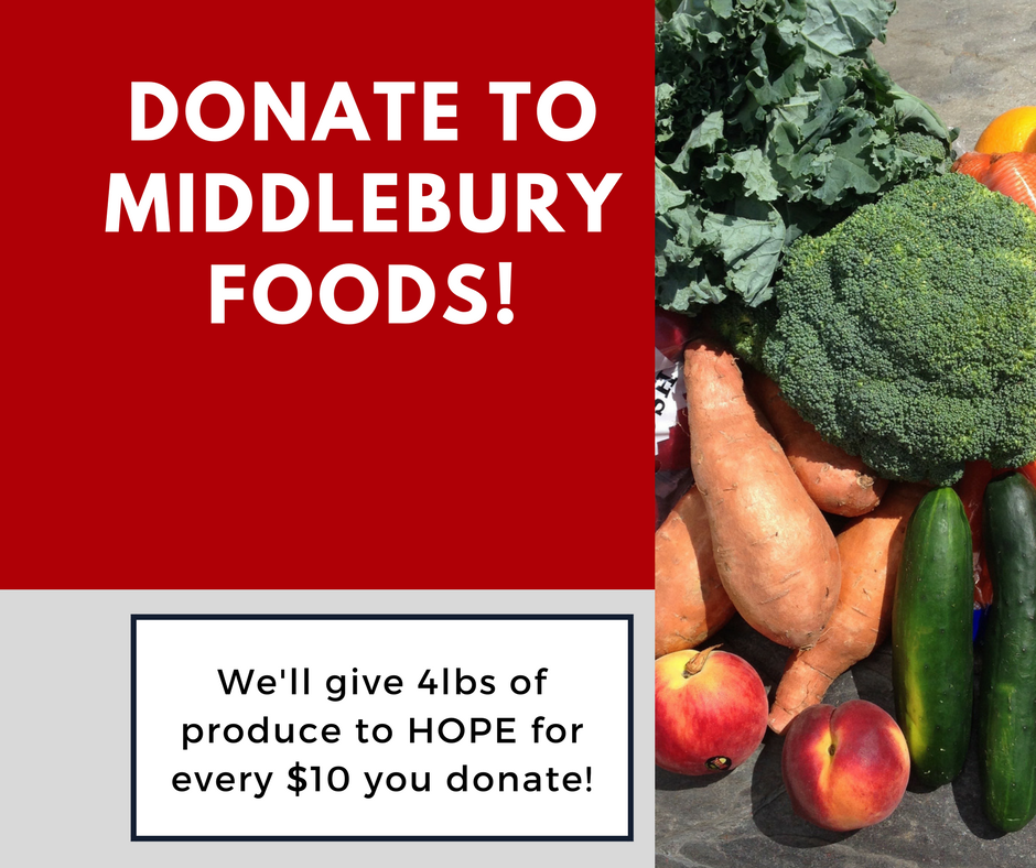Donate to Middlebury Foods!