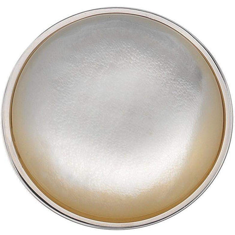 Emozioni White Mother of Pearl Coin 33mm