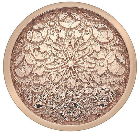 Emozioni Mystical Map Rose Gold Coin 25mm