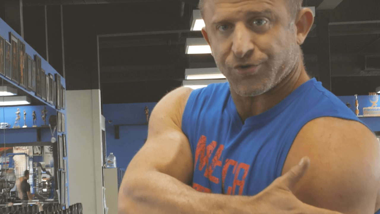 CHET'S TIP FOR BIGGER ARMS