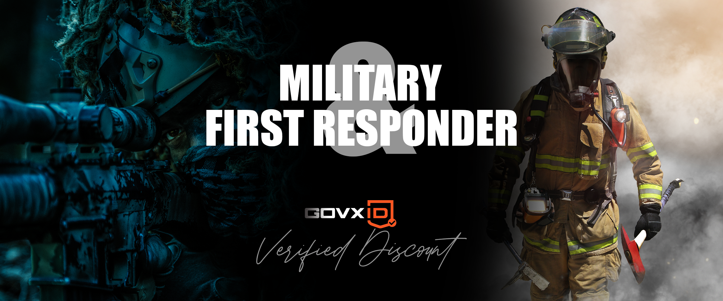 Military & First Responder discount