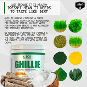 Ghillie Greens Samples