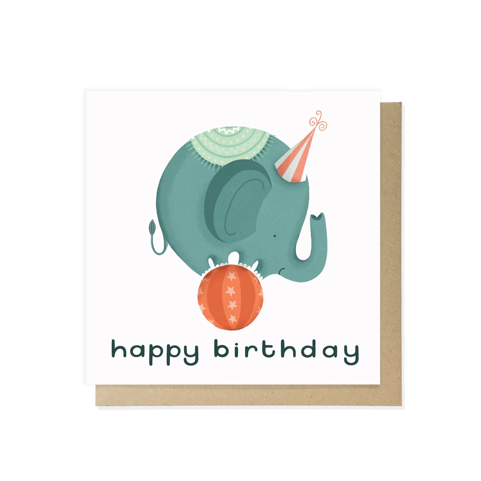 Happy Birthday Elephant by Lauren Radley