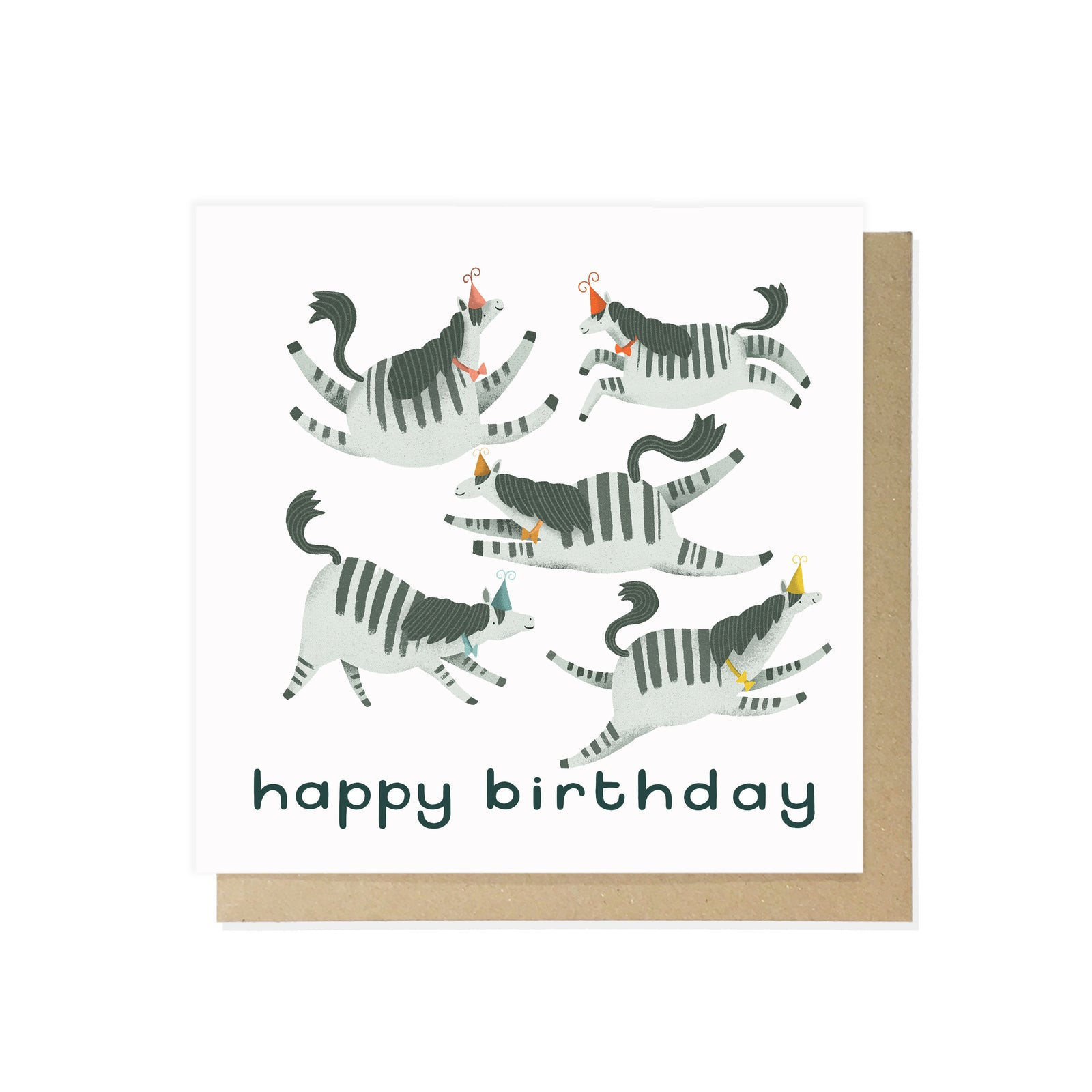 Happy Birthday Zebra by Lauren Radley