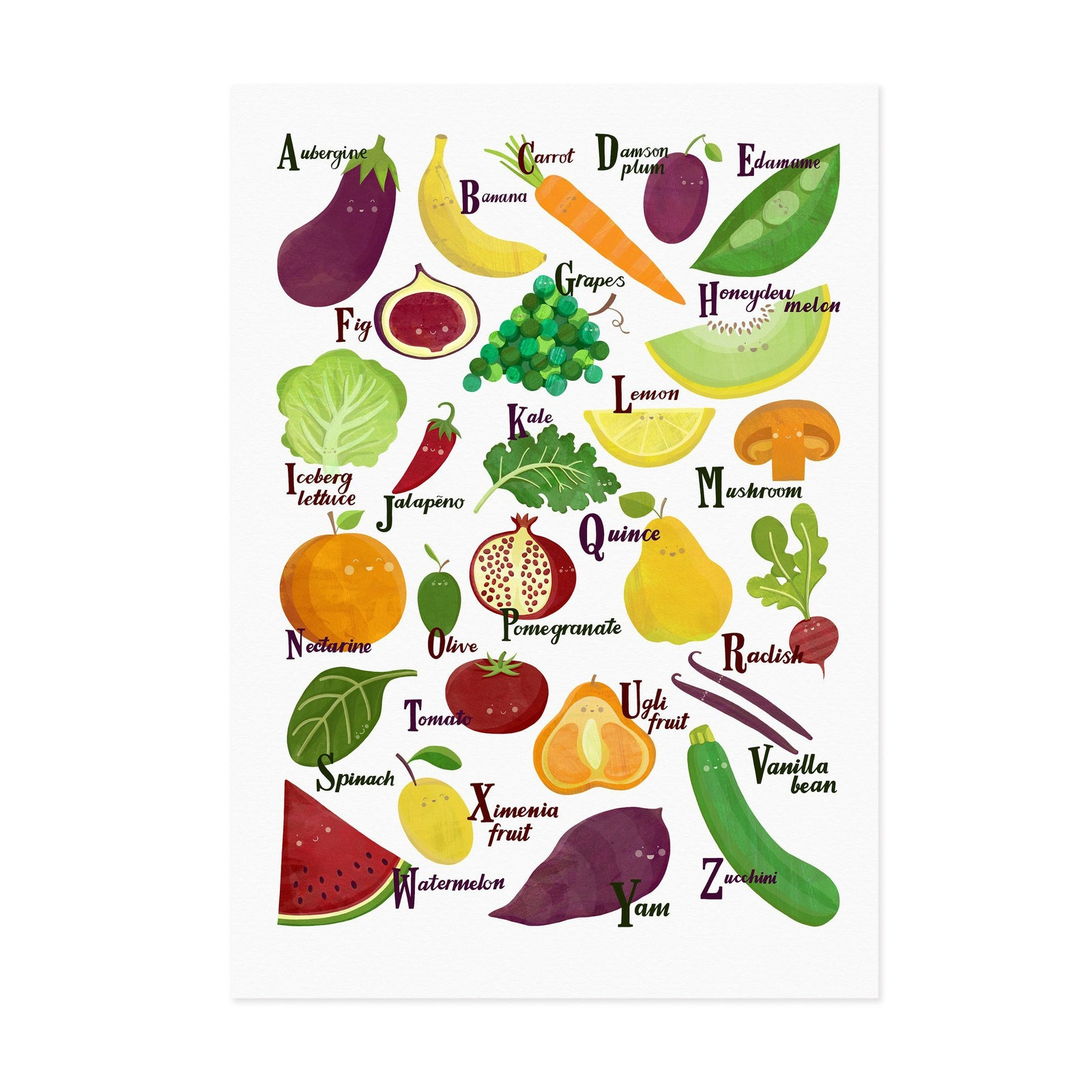 Fruit and Veg A to Z