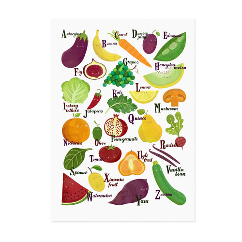 Fruit and Veg A to Z - Lauren Radley