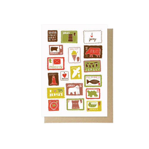 Jersey Stamps by Lauren Radley
