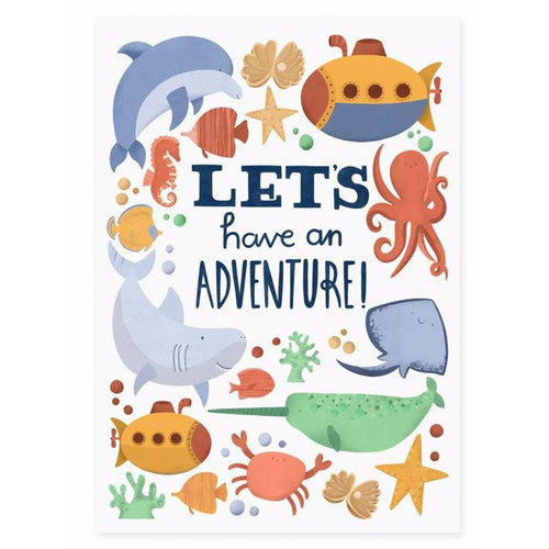 Adventure Print - Lauren Radley