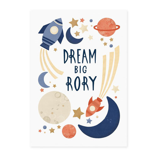 Bespoke Dream Big Print