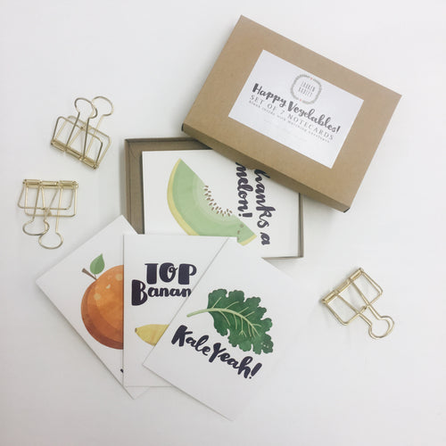 Happy Veg Box Set by Lauren Radley