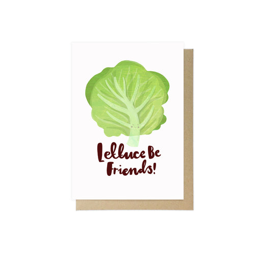 Lettuce Be Friends by Lauren Radley