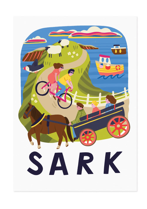 Sark Travel Poster Print