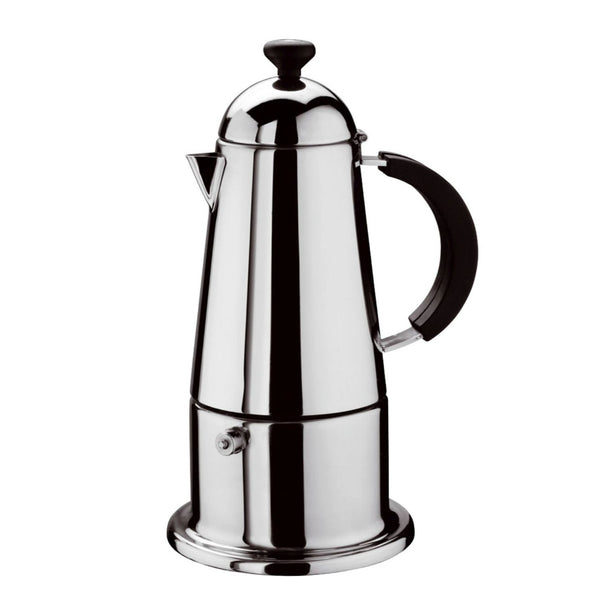 GAT Carmen - Induction Moka Stove Top Coffee Espresso Maker - Stainless Steel - Various Sizes